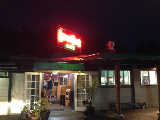 Volcano's Lava Rock Cafe: great place