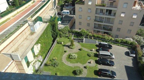 Grand Hotel Tiberio : parking