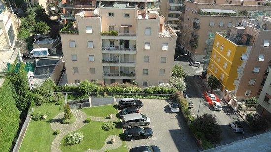 Grand Hotel Tiberio : vue des escaliers