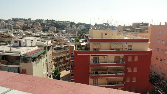 Grand Hotel Tiberio : quartier- vue terrasse