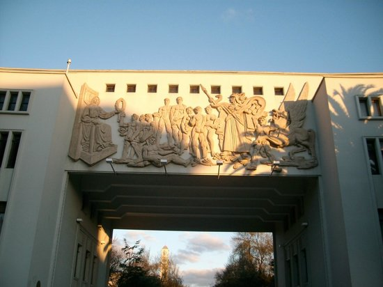 Universidad de Concepcion : Concepción, Región del Bio-bío. Chile. Universidad de Concepción.  Arco de entrada.