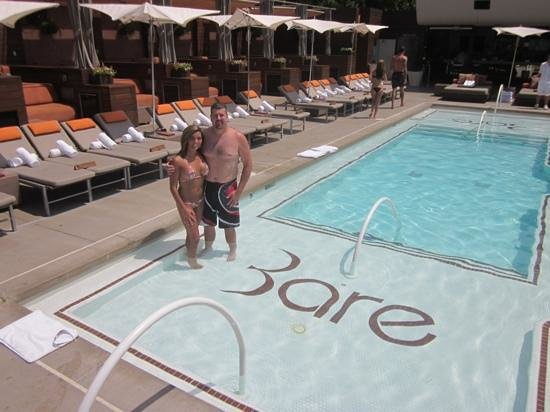 The Bare Pool Picture Of The Mirage Hotel Amp Casino Las