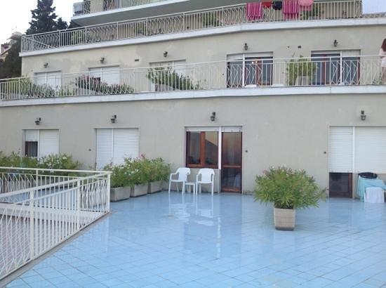 Mediterranee Hotel: terrazza delle stanze 52 53 54 55