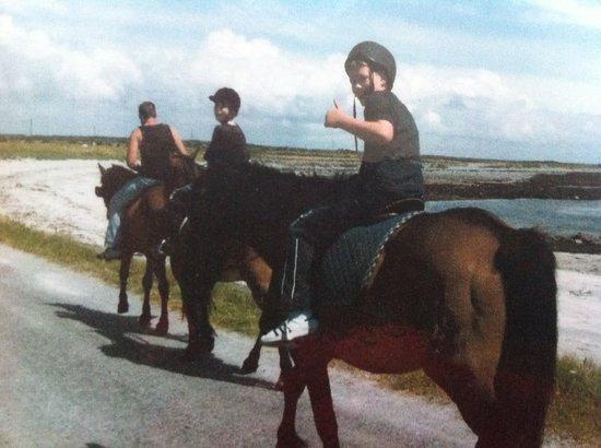 Kelly House B&B: horse riding