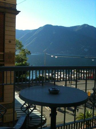 Hotel International au Lac: Zimmer mit kleinem Balkon