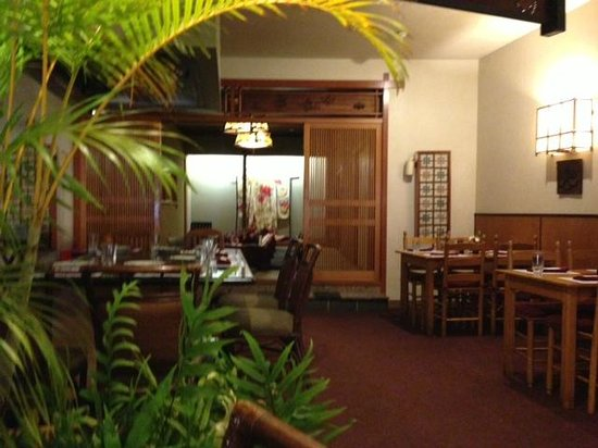 KINTARO Japanese Restaurant : Inside the restaurant