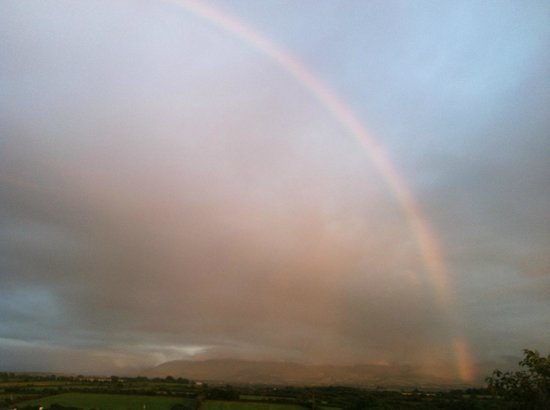 Rainbow at Dromin Farmhouse