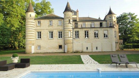 Chateau du Four de Vaux : castle back view