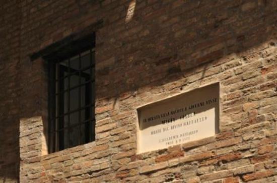 casa natale di Raffaello Sanzio