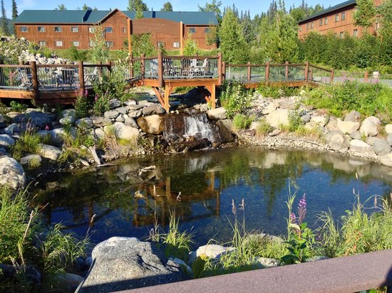 Mt. McKinley Princess Wilderness Lodge: The Grounds