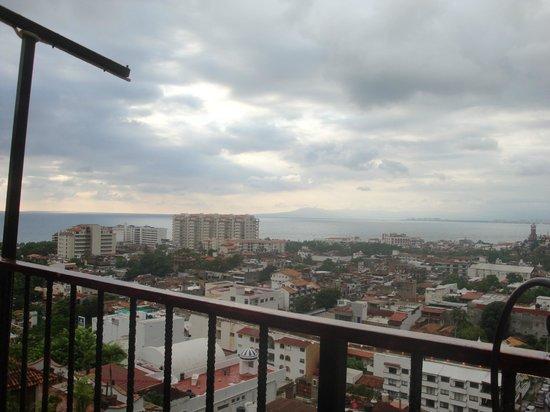 El Palomar de los Gonzalez: View from dining terrace