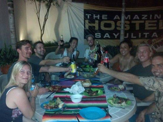 The Amazing Hostel Sayulita: BBQ