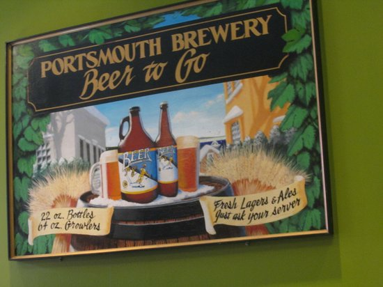 Portsmouth Brewery: sign inside