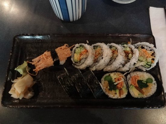 Kaide Sushi : great vegetarian sushi