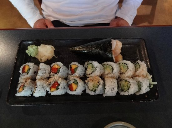 Kaide Sushi: a plate full