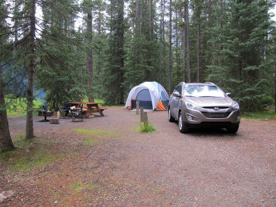 Lake Louise Campground: Site A15