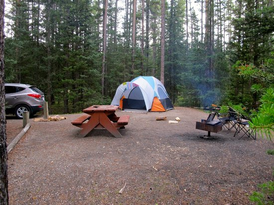 Lake Louise Campground: Site J15