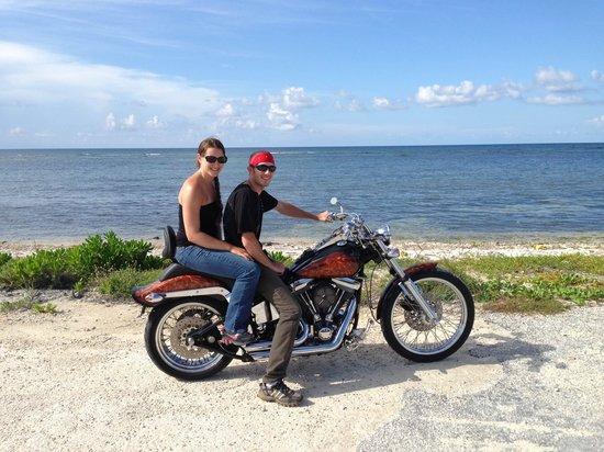 Cayman Custom Cycles Island Tours: Beautiful view!