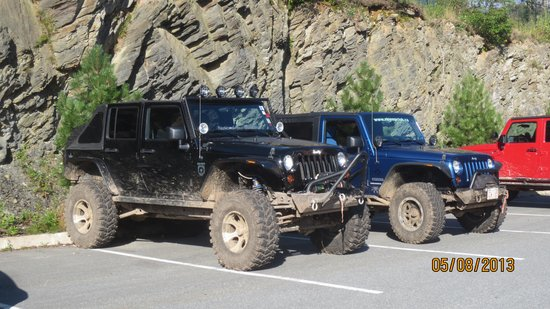 Hampton Inn & Suites by Hilton Saint John : jeep a l'hotel