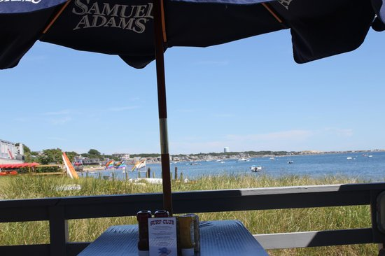 Surf Club Restaurant and Bar: View from outside seating
