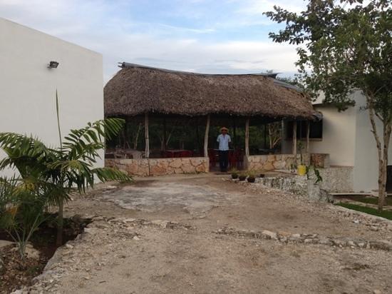 Nah Cocom: Welcoming palapa