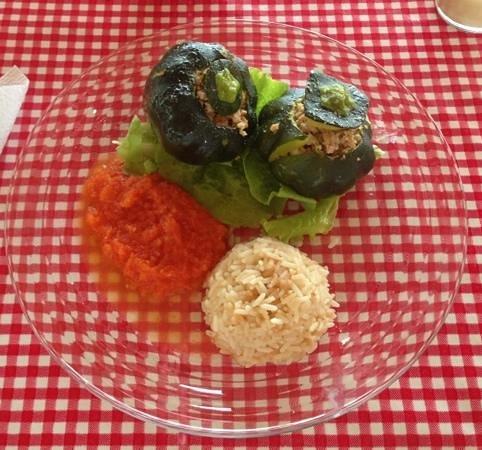 Nah Cocom: delicious stuffed squash
