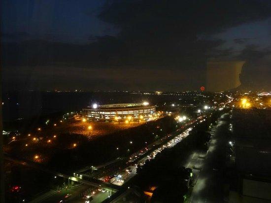 APA Hotel & Resort Tokyo Bay Makuhari: 花火大会の会場