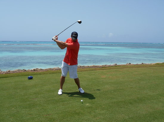 La Cana Golf Course: Not a bad view from here!