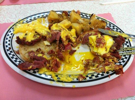 Dream Diner: Pastrami Benedict