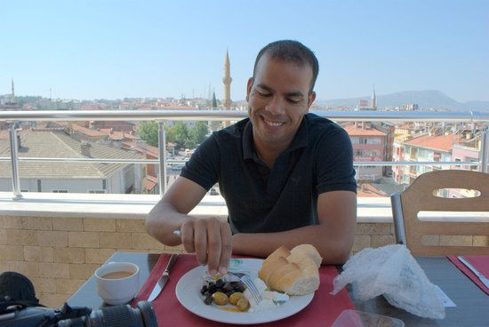 Ali Bilir Hotel: breakfast in the big terrace