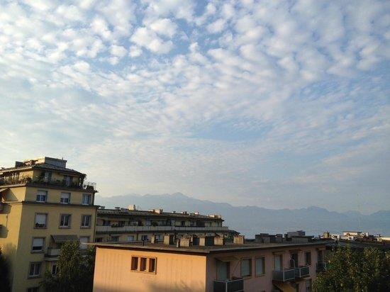 Hotel Elite: Very nice sky