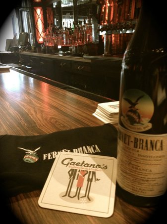 Gaetano's Restaurant: Italian Specialty Spirits
