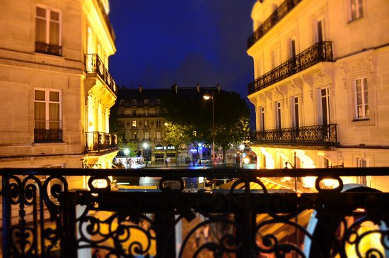 Hotel Albe Saint Michel : View from our room