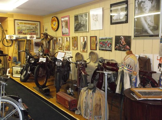 Art In Motion Vintage Motorcycle Museum: More great things to see.