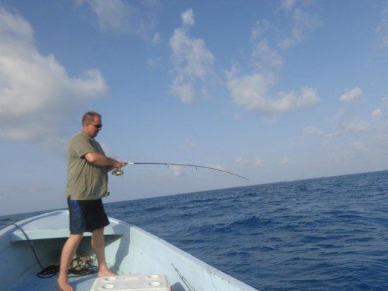 Jaguar Reef Lodge & Spa: Fishing adventure
