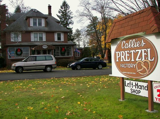 Mountainhome, PA: Callie's Pretzel Factory