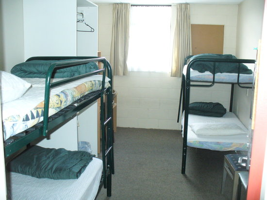 Rotorua Planet Backpackers: 4-bed dorm room