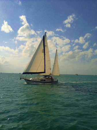 Key West Sailing Adventure: Welcome our 42 foot Irwin Moon Dance