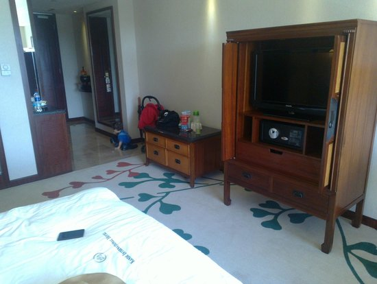 Kande International Hotel: T.V.
