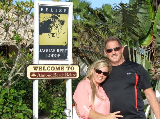 Jaguar Reef Lodge & Spa: When we first arrived