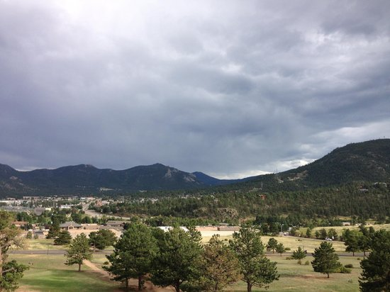 Stanley Hotel: View from room