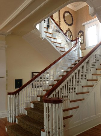 Stanley Hotel: Main Stairway in the Lodge