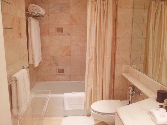 Hotel Plaza Athenee New York : bathroom