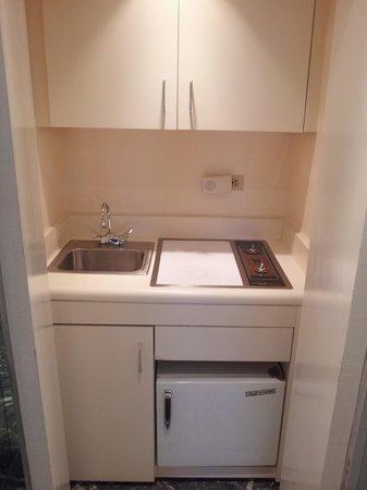 Hotel Plaza Athenee New York : mini kitchen
