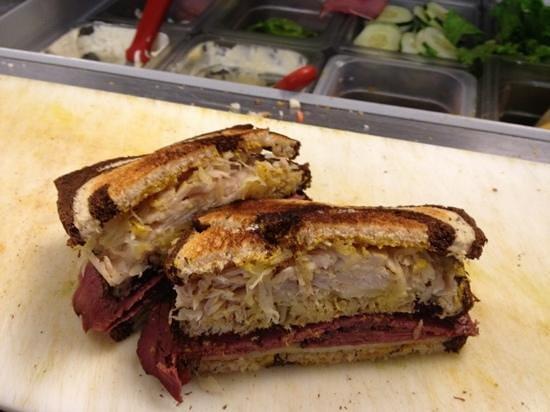 Stone Soup: Reuben sandwich