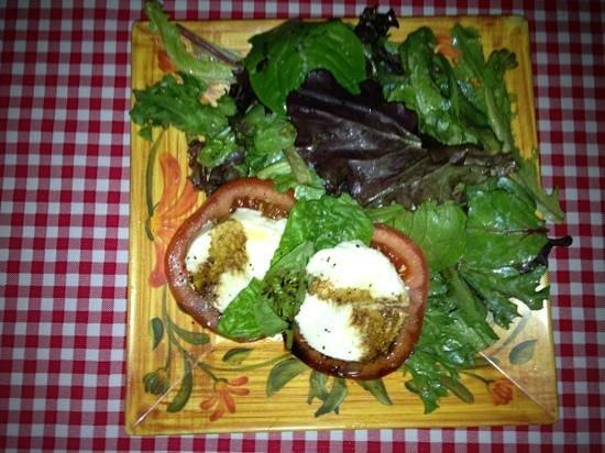 Italian Peasant: Caprese Salad
