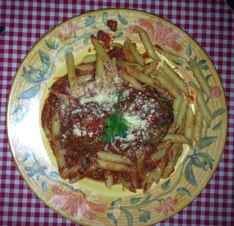 Italian Peasant: Pasta and Meatballs
