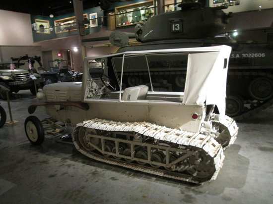 Wright Museum of WWII: snow tractor