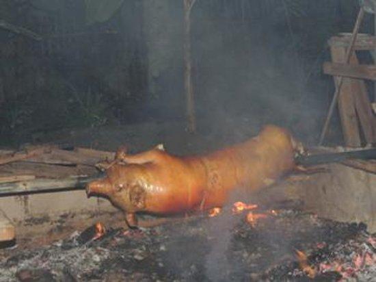 Greenhouse: Cochon de lait roti...