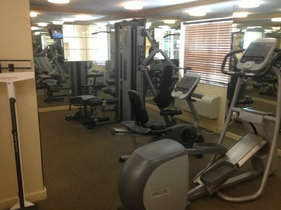 Candlewood Suites Galveston: Fitness center/Laudry room